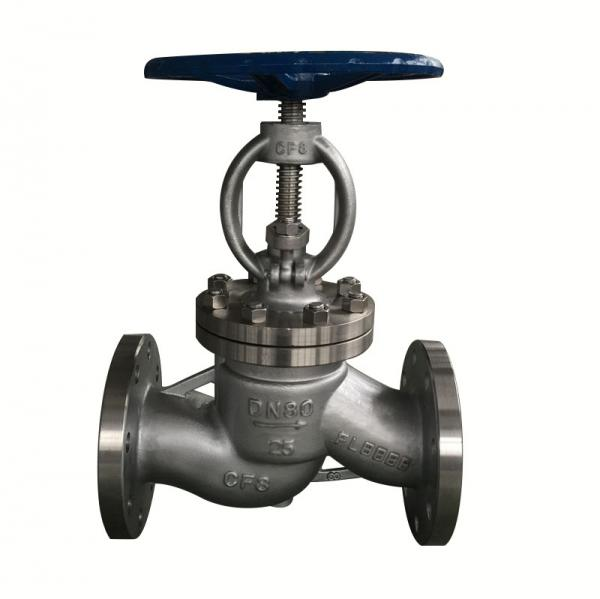 Quality 6 Inch Industrial Globe Valve , Stainless Steel Globe Valve For Flow Control for sale