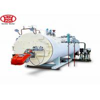 China 4000kgh 4 ton Industrial Diesel Oil Fuel Steam Boiler 200 hp for Rice Mill, texile mill wholesale