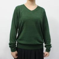 China Cashmere Ladies V Neck Sweaters / Big Sizes Womens Cotton Sweaters on sale