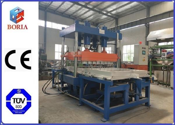 Quality 1200 X 1200mm Hot Plate Size Rubber Vulcanizing Press Machine Frame Type With 2 Working Layer for sale