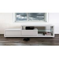 China White Lacquer Painting Modern TV Stand Furniture 1.8M Length Storage Box wholesale