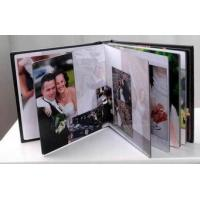 China Modern 8x8 inch Gloss Lamination / Right Inside Photo Album Refill Pages wholesale