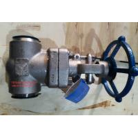 China BS 5352 Socket Weld Stainless Steel Gate Valve Class 1500 With BW End wholesale