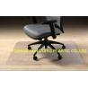 Buy cheap Rectangular shape Office Floor Mats Tounge , Waterproof computer chair mat from wholesalers