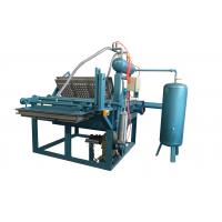 China 1000pcs/h Stable Pour Suction Safe High Efficiency Manual Operation Egg Tray Production Line wholesale