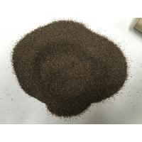 China Emery Grinding Powder Abrasive Sand Blasting , Brown Fused Corundum For Grinding Wheels wholesale