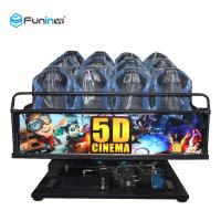 China 6 DOF Movement 5d Cinema Theater 8D / 9D / Xd Cinema Electric System / Hydraulic wholesale