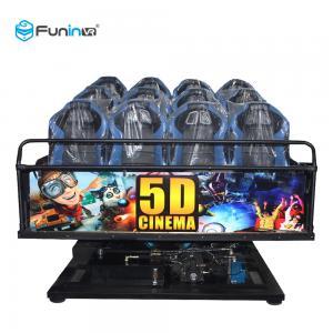 China Motion Chair 5D 6D 7D 9D Cinema Kino Equipment For Amusement Park wholesale