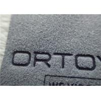 China Micro Fibre Customized Logo Printing Normal Ink High Frequency Stereoeffect Label Patches wholesale