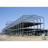 China Industrial Steel Frame Buildings , Metal Hall Light Gauge Steel Structures wholesale