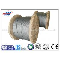 China 6x26SW+FC No Oil Hot Dipped Galvanized Steel Wire Rope For Lifting / Tower Crane wholesale