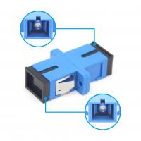 China SC UPC Simplex Adapter Fiber Optic Adapter For FTTH fiber connection RoHS High Quality on sale