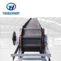 China YIHU Industrial Chain Conveyor , Plate Apron Conveyor With Rollers on sale