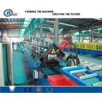 China Custom Steel Door Frame Roll Forming Machine With PLC Control System wholesale