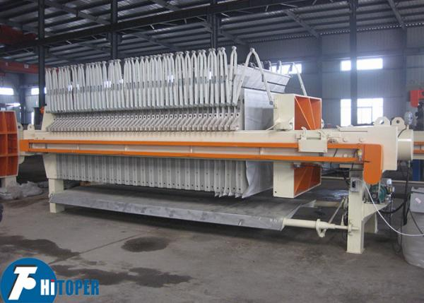 Quality 902L Mechanical Filter Press 870mm Automatic Pulling Plate With Shaking System for sale