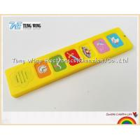 China Popular 6 Button Sound Book Module Indoor Educational Toys wholesale