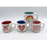 China Gifts Spot Decal 3d Ceramic Mug In 2 Tone Colors For Valentines ' S Day wholesale