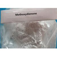China Medical Steroids Raw Powder Methoxydienone For Strength Gaining CAS 2322-77-2 wholesale