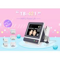China 4.5mm Cartridge HIFU High Intensity Focused Ultrasound For Face Lifting wholesale