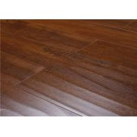 China Eco Indoor Distressed Wood Laminate Flooring ,  Recycle Hardwood Floor Covering on sale