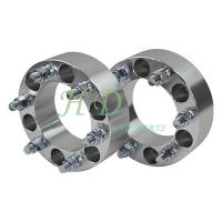 China 6061-T6 Billet Aluminum  wheel spacer adapter 6X5.5-6X5.5-14X1.5-2Thickness 108MM wholesale