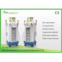 China Vertical 2 handpiece Fractional RF Microneedle Machine With Micro Needle System wholesale