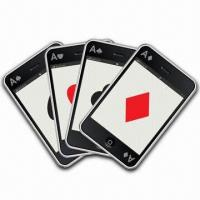 China Waterproof Playing Cards, Made of PVC, Available in Size of 56 x 87cm wholesale