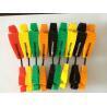 China 多彩な安全プラスチック働く手袋の監視クリップ、手袋のホールダー クリップ wholesale
