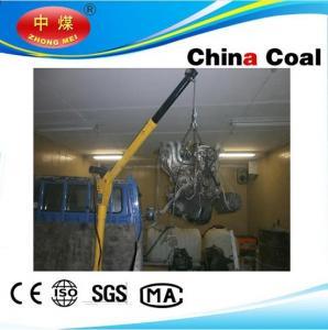 China HP1000 12V DC Pick Up Portable Mini electric hoist winch truck lift crane wholesale