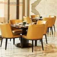 China Contemporary Upholstered Hotel Breakfast Room Furniture with Table and Chair wholesale