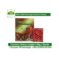 China Strawberry Powder Weight Loss Fruit Juice BESTSHARE For Slimming SGS Approved wholesale