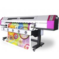 China Two DX5 Epson Solvent Printers , 1.8M 1440DPI Wall Paper Machine wholesale