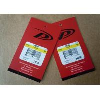 China Personalised Clothing Label Tags Paper Hot Stamp Apparel Labels wholesale