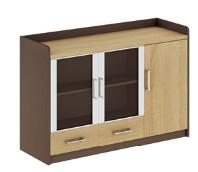 China modern office low credenza cabinet/side cabinet furniture wholesale