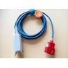 China 3M ata con alambre 20 sensores reutilizables Spo2, punta de prueba roja del Pin Masimo del finger del conector Spo2 wholesale