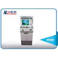 China Indoor Self Service Digital Advertising Kiosk Dual Display Touch Screen wholesale