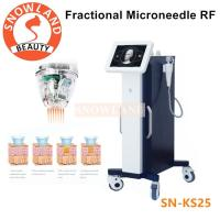 China 2018 Professional microneedle rf/best rf skin tightening face lifting machine/ fractional rf micro needle on sale