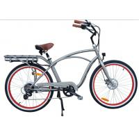 26 Inch big power beach electric bike ,with the motor 250w-750w ,36V lithium battery