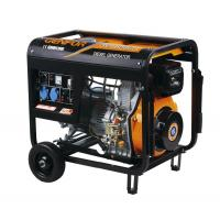 China 5KW Preheatin System Open Diesel Generator Air Cooled High Efficiency wholesale