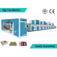 China Full Automatic Moulding Pulp Egg Tray Machine with 4000 Pcs/H wholesale