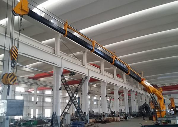 Quality Tailor Made Marine Deck Crane , 10T 25M Hydraulic Marine Dinghy Cranes for sale
