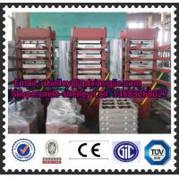 China 550x550mm outdoor safety rubber tile making machine on sale