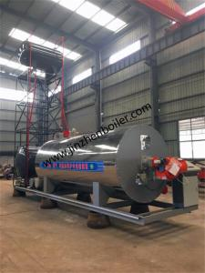 China Gas Oil Fired Horizontal Organic Heat Carrier Thermal Oil Boiler For Heat Exchanger wholesale