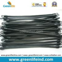 China Plastic Spring Coiled Cable Small Loops Ready for Key Ring on sale