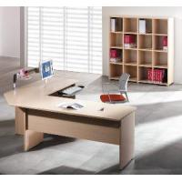 China Wood Executive Table / Wood Manager Table / Wood Executive Desk with Filing Cabinet wholesale