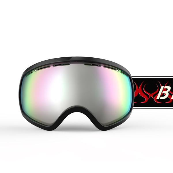ski goggles junior  mirrored ski