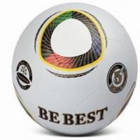 China Rubber Soccer Ball, Size of #5, Customized Logos are Accepted wholesale