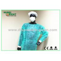 Polypropylene Disposable Isolation Gowns Long Sleeve Durable