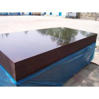 China Waterproof Brown Film Faced Shuttering Plywood wholesale