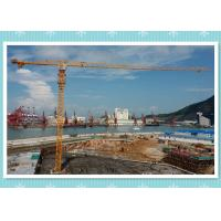 China Electric 6 Ton Construction Tower Crane Safety Manual , Static Tower Crane Hoist wholesale